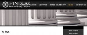 Findlay personal injury law firm