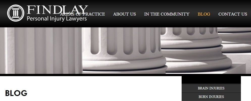 Personal Injury Blog by Findlay