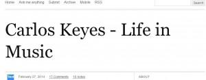 Carlos Keyes blog small