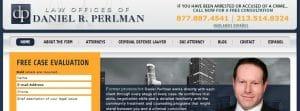 Daniel Perlman lawyers