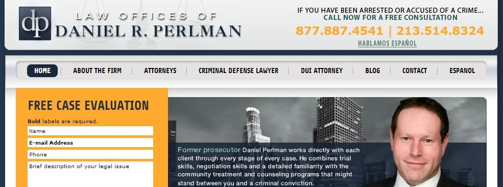 Daniel Perlman Criminal Law Blog