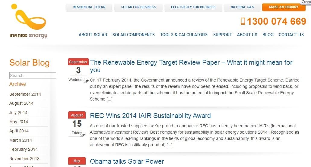 Infinite Energy Solar & Electricity Blog