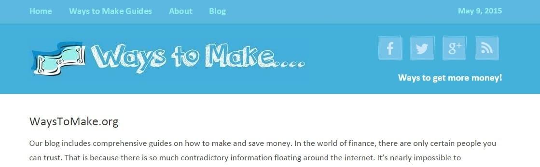 WaysToMake.org