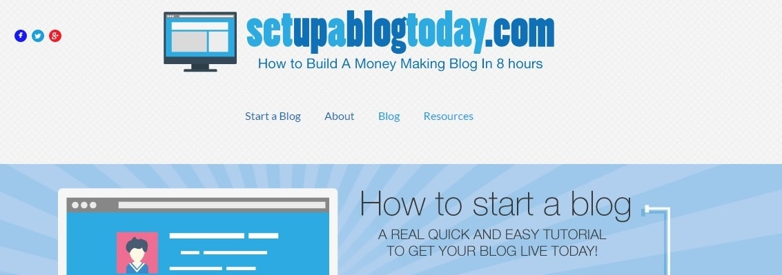Set Up a Blog Today