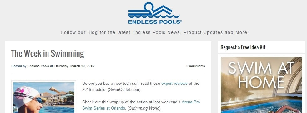 Endless Pools Blog