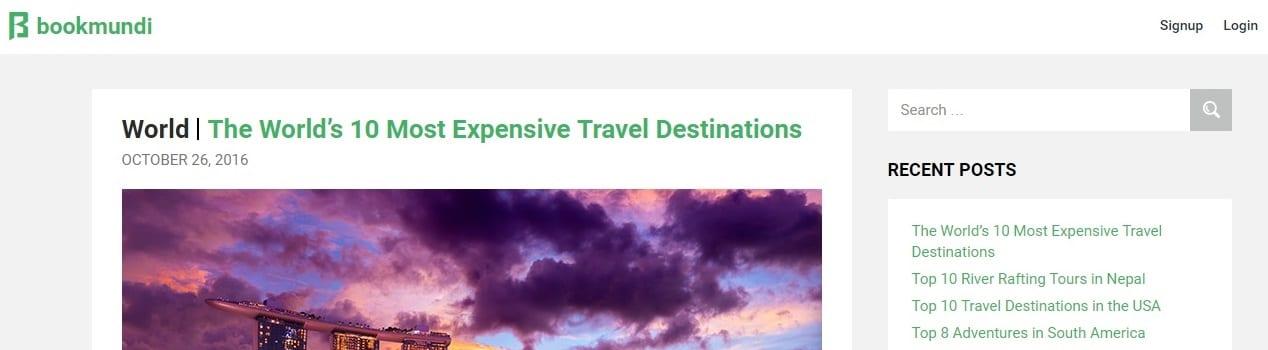 Bookmundi Travel Blog