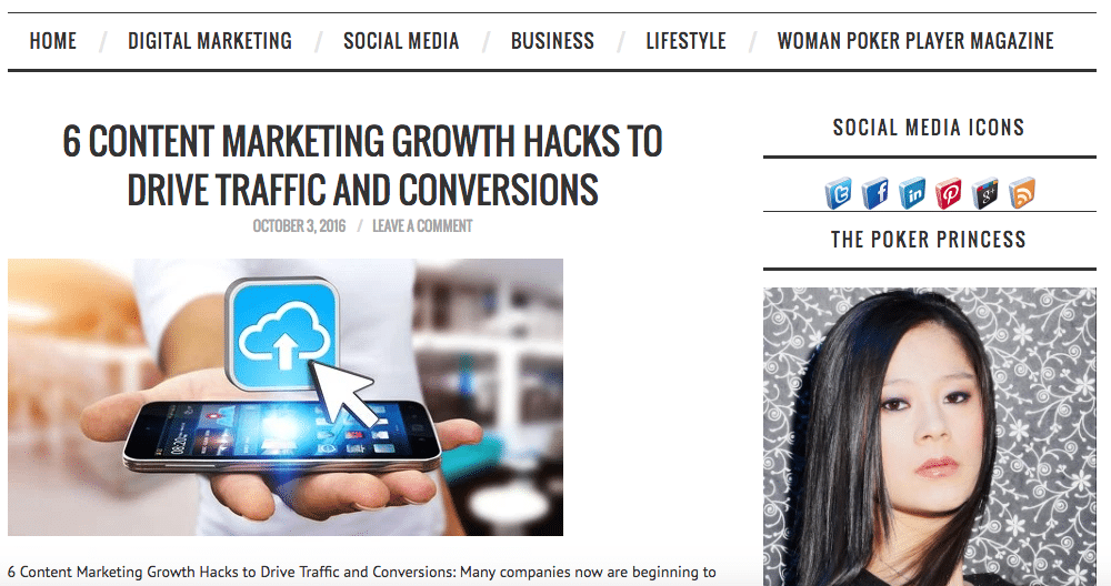 LINA WANG's Blog – Digital Marketing and Social Media