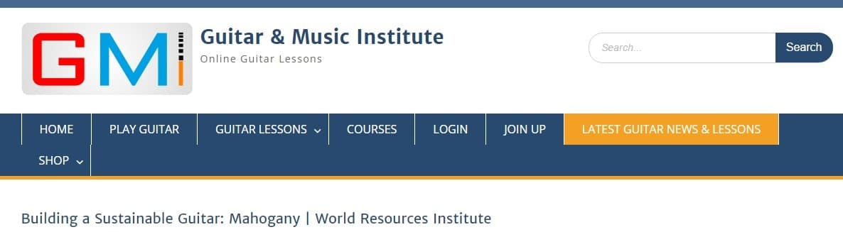 Guitar and Music Institute: Latest Guitar News & Lessons