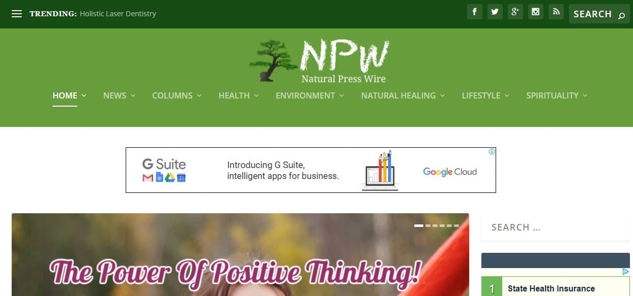 Natural Press Wire